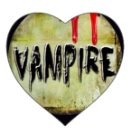 Sticker.Vampire Love