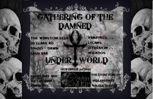 20141101 Gathering of the Damned